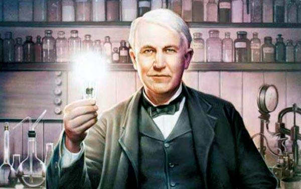 Thomas Edison Ladrón o Inventor