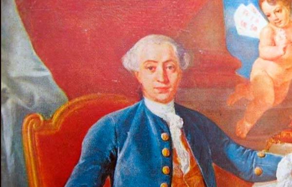 Retrato de Giacomo Casanova