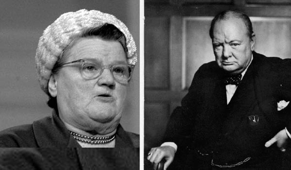 Churchill Vs Lady Astor