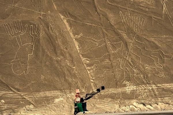 Nuevo descubrimiento en el desierto de Nazca en Perú