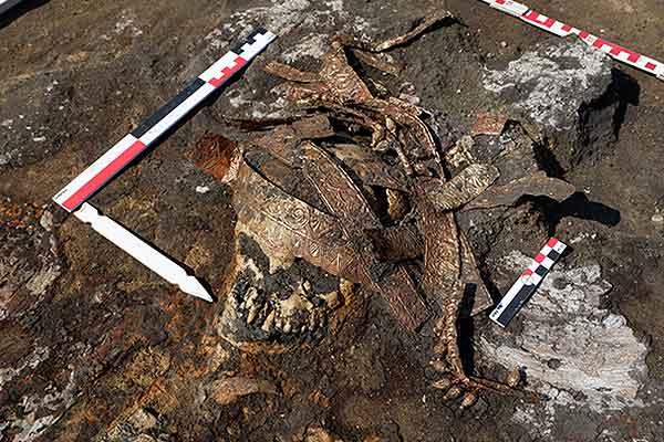 desentierran tumbas de mujeres guerreras
